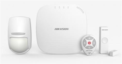 Hikvision Kit de Alarma Inteligente DS-PWA32-KS, Inalámbrico, Incluye Hub, Sensor PIR, Contacto Magnético y Control Remoto