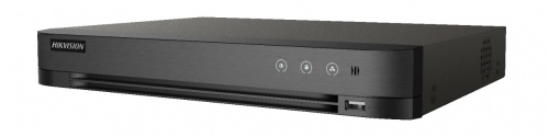Hikvision DVR de 8 Canales TURBOHD + 4 Canales IP para 1 Disco Duro, max. 10TB, 1x USB 2.0, 1x RJ-45
