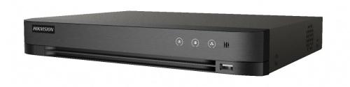 Hikvision DVR de 16 Canales TURBOHD + 8 Canales IP IDS-7216HQHI-M1/FA para 1 Disco Duro, max. 10TB, 1x USB 2.0, 1x RJ-45