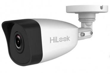 Hikvision Cámara CCTV Bullet HiLook IR para Interiores/Exteriores IPC-B121, Alámbrico, 1920 x 1080 Pixeles, Día/Noche