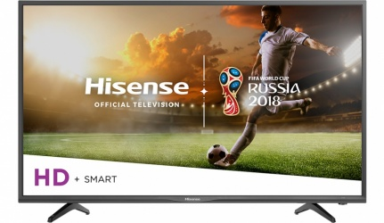 Hisense Smart TV LED 32H5E 31.5'', HD, Widescreen, Negro