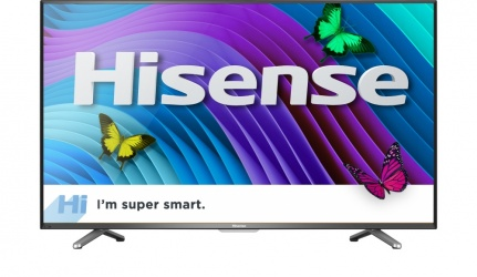 "Hisense Smart TV LED 50CU6000 49.5"", 4K Ultra HD, Widescreen, Negro"