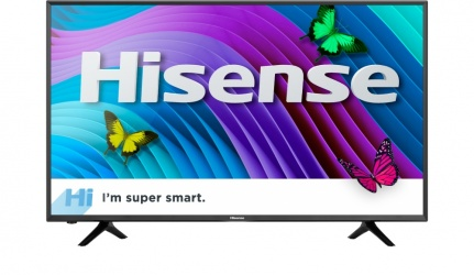 Hisense Smart TV LED 50H6D 50'', 4K Ultra HD, Widescreen, Negro