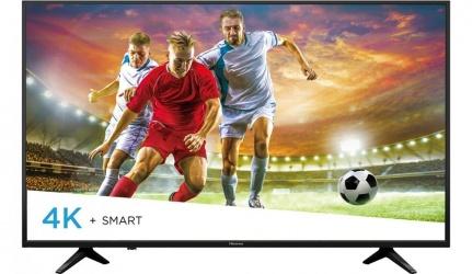 Hisense Smart TV LED VIERA 50'', 4K Ultra HD, Widescreen, Negro