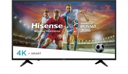 Hisense Smart TV LED 55H6E 55'', 4K Ultra HD, Widescreen, Negro
