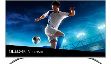 Hisense Smart TV LED 55H9E 55'', 4K Ultra HD, Widescreen, Negro/Gris
