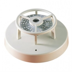 Hochiki Detector de Temperatura Fija,  87 °C, Alámbrico, Marfil