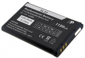 Honeywell Batería BAT-MOB00, Li-Ion, Negro, para SL22/SL42/SL62