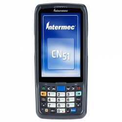 "Honeywell Terminal Portátil CN51 4"", 1GB, Windows Embedded Handheld 6.5, Bluetooth 4.0, WiFi - sin Cables/Base/Fuente de Poder"