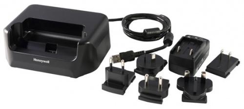 Honeywell Cargador de Tableta EDA70-HB-R, Negro, para EDA70