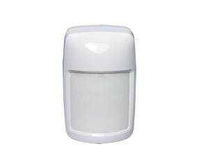 Honeywell Sensor de Movimiento PIR de Montaje en Pared IS335T, Alámbrico, Anti-Pet, 12 Metros, Blanco