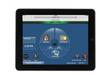 Honeywell Panel de Control Inteligente VAM, WiFi, Z-Wave