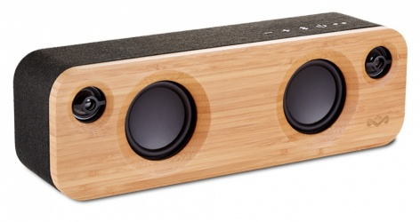 The House Of Marley Bocina con Subwoofer Get Together Mini, Bluetooth, Inalámbrico, 24W RMS, USB, Negro