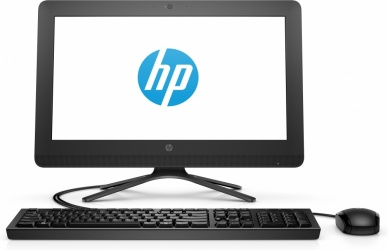 HP 20-c408la All-in-One 19.5'', Intel Core i3-7130U 2.70GHz, 4 GB, 1TB, Windows 10 Home 64-bit, Negro