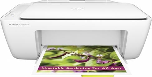 Multifuncional HP DeskJet Ink Advantage 2134, Color, Inyección, Print/Scan/Copy