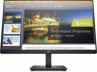 "Monitor HP P224 LED 21.5"", Full HD, Widescreen, HDMI, Negro"