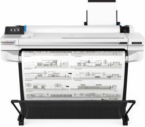"Plotter HP DesignJet T530 36"", Color, Inyección, Print ― Incluye Tablet Ghia AXIS7"
