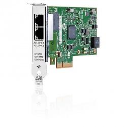 HP Tarjeta PCI Express 361t Gen 2.0, 1GB, 2x RJ-45, para Servidor HP