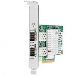 HPE Tarjeta de Red Ethernet 10Gb de 2 Puertos SFP+, 10000 Mbit/s, PCI-E