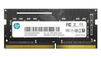 Memoria RAM HP S1 DDR4, 2666MHz, 16GB, CL19, SO-DIMM