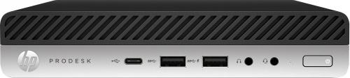 Computadora HP ProDesk 600 G5, Intel Core i3-9100T 3.10GHz, 4GB, 500GB, Windows 10 Pro 64-bits ― Teclado en Inglés