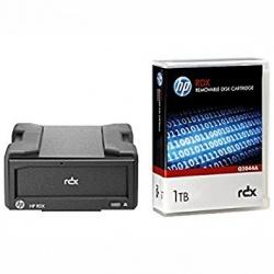 HP Cartucho de Disco Extraible RDX, 1TB / 2TB
