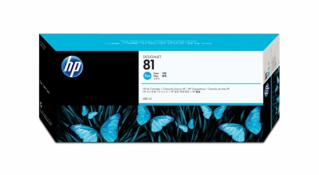 Cartucho HP 81 Cyan 680ml