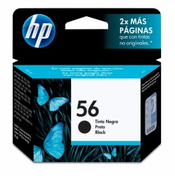 Cartucho HP 56 Negro 19ml
