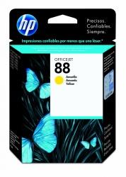 Cartucho HP 88 Amarillo, 860 Páginas