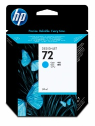 Cartucho HP 72 Cyan 69ml