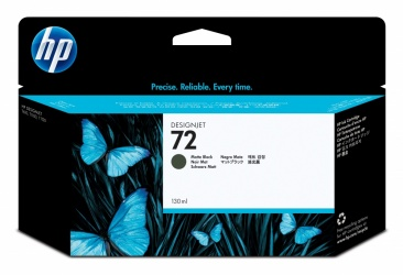 Cartucho HP 72 Negro Mate 130ml