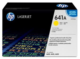 Tóner HP 641A Amarillo, 8000 Páginas