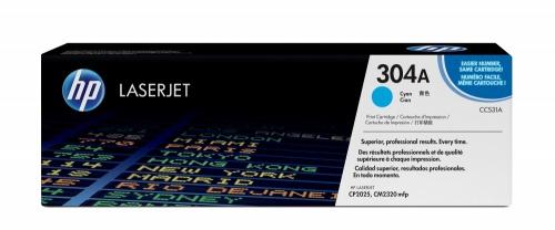 Tóner HP 304A Cyan, 2800 Páginas ― ¡Compra y recibe $125 pesos de saldo para tu siguiente pedido!
