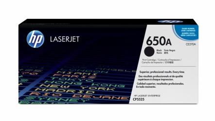 Tóner HP 650A Negro, 13.500 Páginas