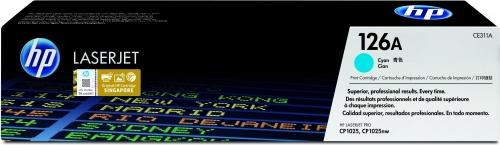 Tóner HP 126A Cyan, 1000 Páginas ― ¡Compra y recibe 5% del valor de este producto en saldo para tu siguiente pedido!