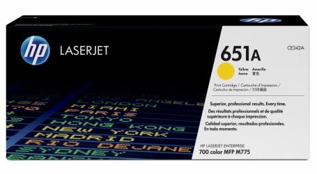 Tóner HP 651A Amarillo, 16.000 Páginas
