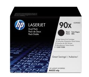 Tóner HP 90X Paquete Doble Negro, 2x 24.000 Páginas
