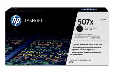 Tóner HP 507X Negro, 11.000 Páginas ― ¡Compra y recibe $190 pesos de saldo para tu siguiente pedido!