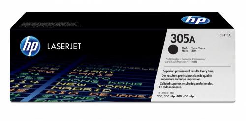 Tóner HP 305A Negro, 2200 Páginas