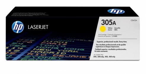 Tóner HP 305A Amarillo, 2600 Páginas ― ¡Compra y recibe 5% del valor de este producto en saldo para tu siguiente pedido!