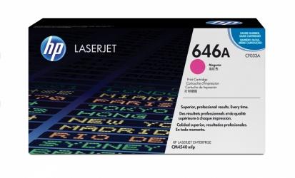 Toner HP 646A Magenta, 12.500 Páginas