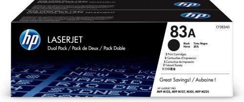 Tóner HP 83A Paquete Doble Negro, 2x 1500 Páginas ― ¡Compra y recibe el 5% en saldo de regalo para tu siguiente pedido!