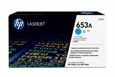 Tóner HP 653A Cyan, 16.000 Páginas