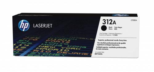 Toner HP 312A Negro, 2400 Páginas ― ¡Compra y recibe $85 pesos de saldo para tu siguiente pedido!