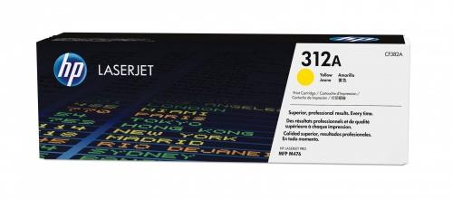 Toner HP 312A Amarillo, 2700 Páginas ― ¡Compra y recibe $115 pesos de saldo para tu siguiente pedido!