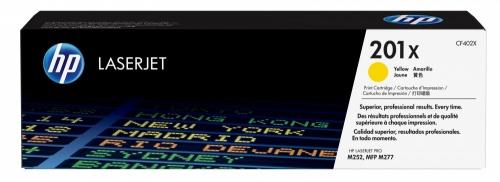 Tóner HP 201X Amarillo, 2300 Páginas ― ¡Compra y recibe 5% del valor de este producto en saldo para tu siguiente pedido!