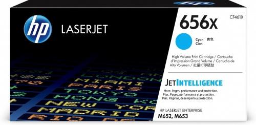 Toner HP 656X Alto Rendimiento Cyan, 22.000 páginas
