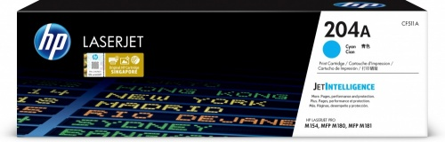 Tóner HP 204A Cyan, 900 Páginas ― ¡Compra y recibe $60 pesos de saldo para tu siguiente pedido!