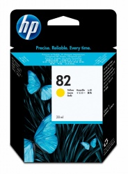 Cartucho HP 82 Amarillo 28ml