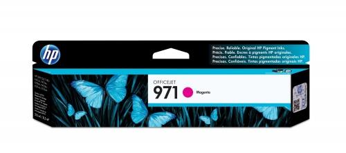 Cartucho HP 971 Magenta, 2500 Páginas ― ¡Compra y recibe $75 pesos de saldo para tu siguiente pedido!